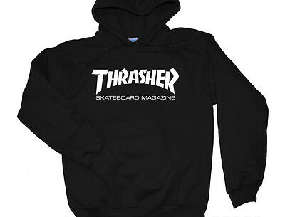 68a597d1a55d Thrasher Hoodie Skateboarding Magazine Skate Logo Sweater Crewneck Multi  Colors