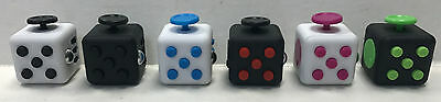 New Fidget Cubes Stress Anxiety Releif Desk Toys For Adult Kids New 6 Sided 2017
