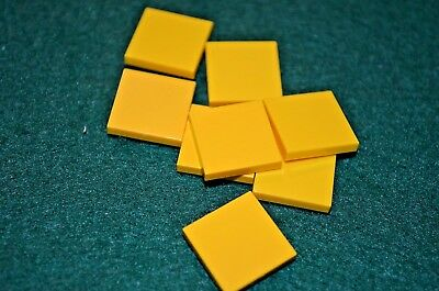 8 Green 1x4 Smooth Finishing Tile Brick Bricks  ~ Lego  ~ NEW