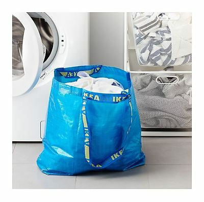 IKEA FRAKTA  BAG Shopping Groceries Laundry Storage Tote ECO Bags  xStrong