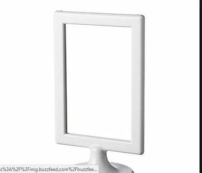 IKEA TOLSBY Frame for 2 Pictures Display Memo White NEW