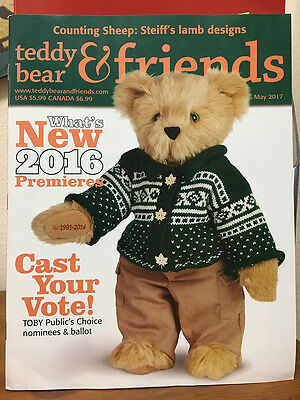 Teddy Bear And Friends Magazine May 2017 issue