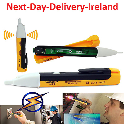 AC Non-Contact Electric Voltage Detector Tester Test Pen 90~1000V LCD