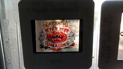 Attack of the Killer Tomatoes 35mm slide 2x2 original cell Fox