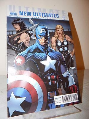 NEW ULTIMATES Marvel Comics Issue #1 Loeb Cho Comic Book 2nd Printing Variant Ed