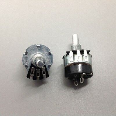 2pcs 100K Ohm Potentiometer With Switch WH134-2
