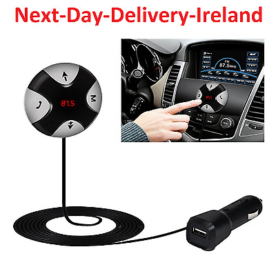 Bluetooth Wireless Car FM Transmitter MP3 Radio Player Charger Kit AUX Dual USB