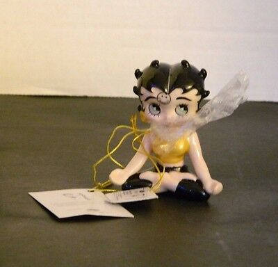 Betty Boop Ceramic BETTY YOGA MINI BOBBLE  New with Tags