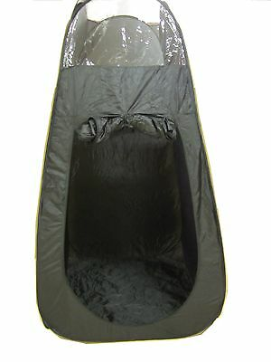 Black Tanning Tent Booth Pop Up and Portable