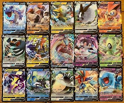 50 Pokemon Cards - Guaranteed 1 GX + 10 Rares/Rev Holos/Holos Bulk - NEW & MINT!
