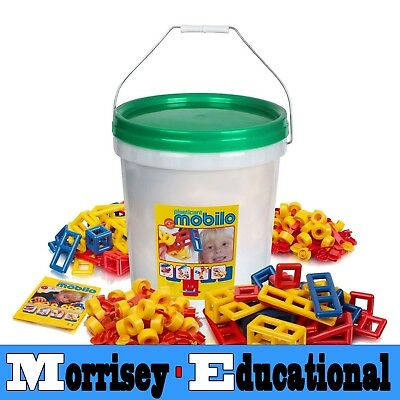 Mobilo Toy - Giant Bucket 416 Pieces - MORRISEY EDUCATIONAL