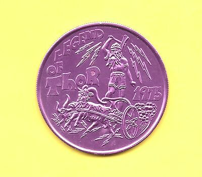 Norse Mythology Token ~ 1975 The Legend of Thor Coin