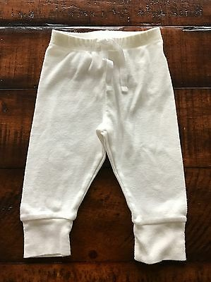 Baby Gap First Favorites White Leggings (Unisex) Size 0-3 Months~Worn Once!!!