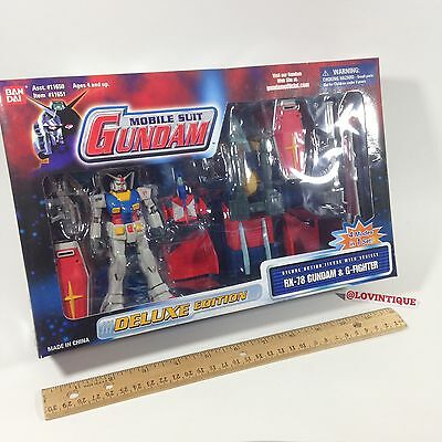 Bandai Gundam 2001 Mobile Suit RX-78 G-Fighter Deluxe Edition New 11651 RX78