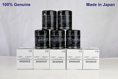 5 x New Genuine Subaru Oil Filter 15208 AA160 Ryco X-ref:Z411