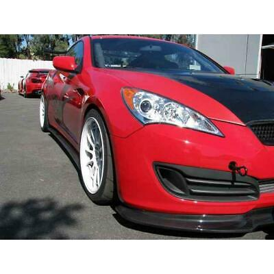 Hyundai Genesis Coupe 2.0//3.8 Front Lip Splitter No APR Support Rods Included
