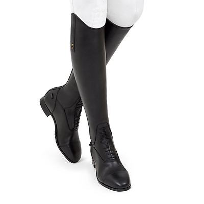 Tredstep Ireland Donatello Leather Square Toe Competition Long Riding Laced Boot