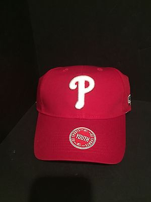 dce78f58e38 OC Sports Philadelphia Phillies Youth Adjustable Hat Official License  MLB275 NEW