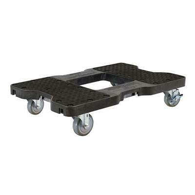 Snap-Loc 1500 Lb Industrial Strength Professional E-Track Dolly Black SL1500D4B