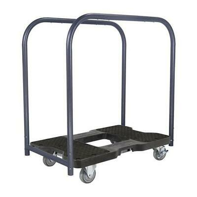 Snap-Loc 1500 Lb Industrial Strength Professional E-Track Panel Cart Dolly Black