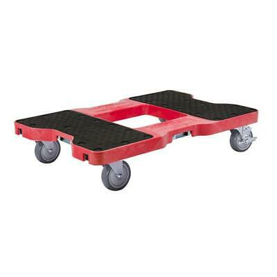 Snap-Loc 1500 Lb Industrial Strength Professional E-Track Dolly Red SL1500D4R