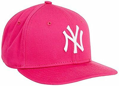 New Era - Kids MLB Basic NY Yankees 9Fifty Fitted, Berretto infantile, rosa (hot