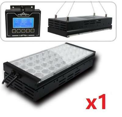 LED Aquarium Light +Controller for Saltwater Coral Marine Fish Tank 40 LEDs