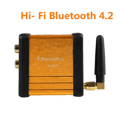 Car Audio Mini Bluetooth 4.0 Audio Receiver Stereo HiFi 3.5mm AUX Music Adapter