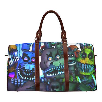 Adventure Game Five Nights at Freddy's Durable Canvas Travel Duffel Bag Ourdoor