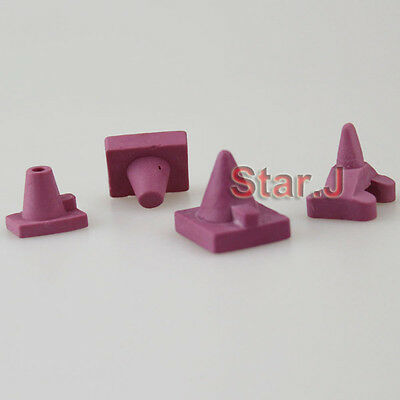 12pcs Ceramic Firing Pegs Dental Lab for Porcelain Oven Tray Large