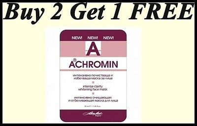 Face Cloth Mask Buy 2 Get 1 FREE by ACHROMIN Whitening  -Intense Clarity 30ml