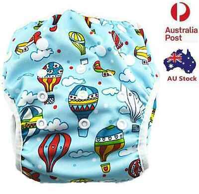 New Adjustable Swim Nappy Baby Toddlers Diapers Pants Nappies Swimmers (S102)