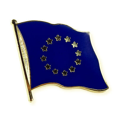 Flaggen Pin Europa ca. 20 mm - Anstecknadel Anstecker  Fahnenpin Pulse of Europe
