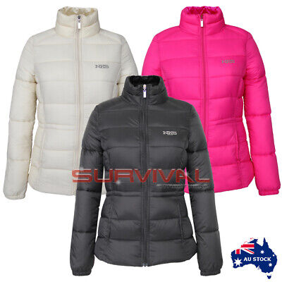 Womens Puffer Jacket Insulated Outerwear 100% Nylon Premium Authentic NKS XS-XXL