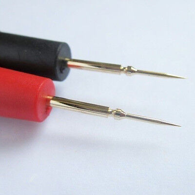 1 Pair Useful  Multimeter Probe Test Lead Wire Test Cable with Needle Tips