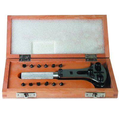 Jewelers Tools 916600 Watch Case Opener Complete Set Repair Jaxa Wrench