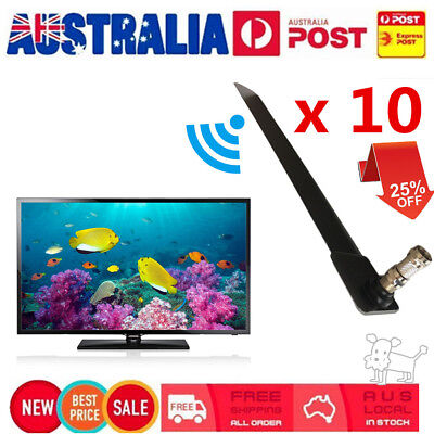 10X Stylish Compact Size Home TV HD TV Digital Indoor Aerial For Television AUD