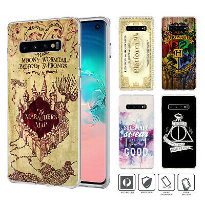 Harry Potter Cover Case for Samsung Galaxy S3 4 5 6 7 8 Edge Plus Note 032
