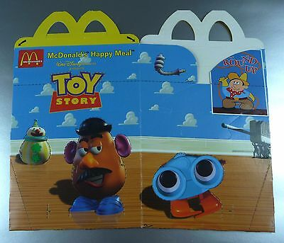 ANCIENNE BOITE HAPPY MEAL McDONALD'S / VINTAGE TOY BOX / TOY STORY / 3