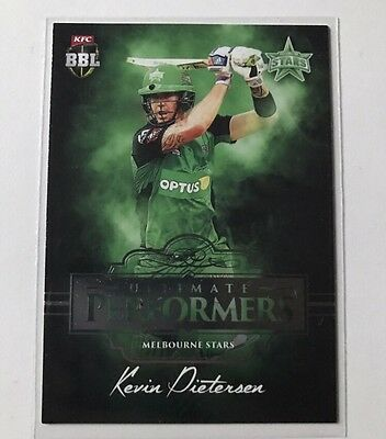 Tap N Play 2016/2017 Kevin Pieterson Ultimate Performers 31/60 Rare