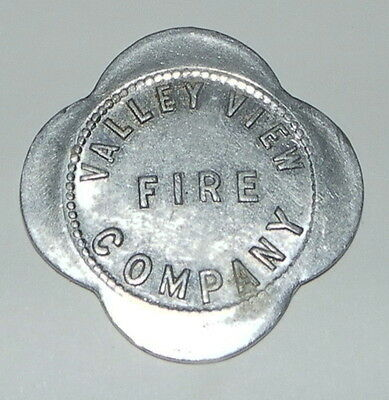 Valley View Ohio Fire Company Good for 10 cents in Trade token