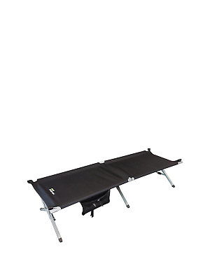 Serenity Camp Bed - Black - Yellowstone