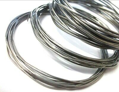 LOW MELTING POINT SOLDER LMP 62% TIN 36% LEAD 2% SILVER 26swg 24swg 22swg 18swg