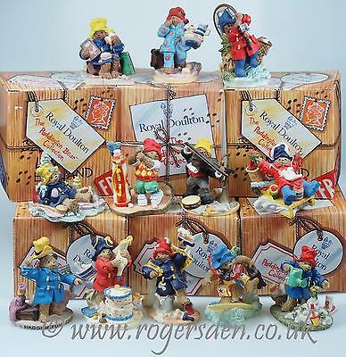 Royal Doulton  Paddington Collection A VERY RARE FULL SET ONLY ISSUED FOR 2 YEAR