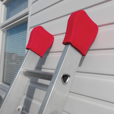 Window Cleaner Ladder Pads|Mits  - Protection on Glass & Walls |Ladder Socks
