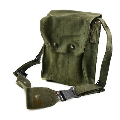 Original French army magazine pouch MAT ammo bag case 5 cells mag