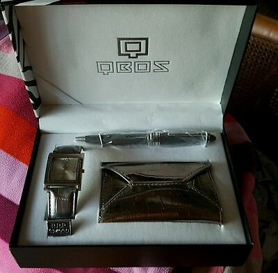 REDUCED! QBOS watch set NEW