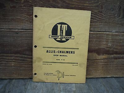 Allis Chalmers 160 Tractor I&t Shop And Service Manual