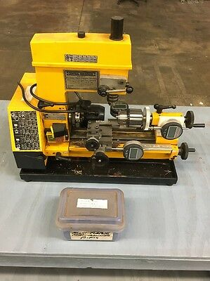 Central Machinery Mini Precision Multipurpose Machine Lathe Mill Drill