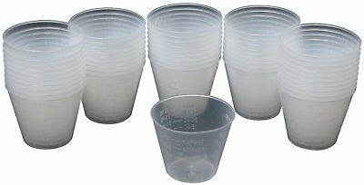 Great Planes 1oz epoxy mixing cups (50) GPMR8056